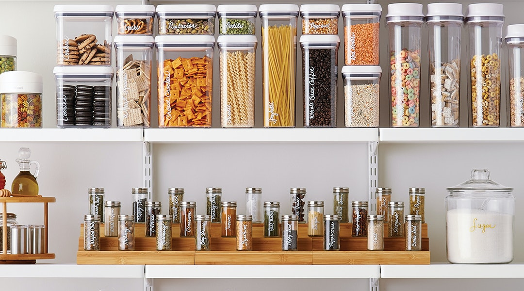 Kitchen Pantry Jars and Containers