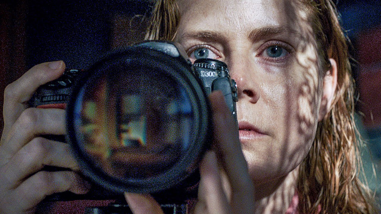 A scene from the 'The Woman in the Window' 2020 movie
