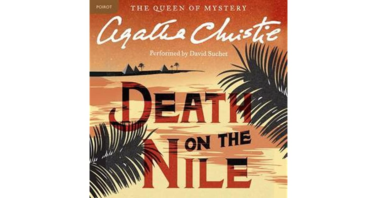 'Death on the Nile' book cover