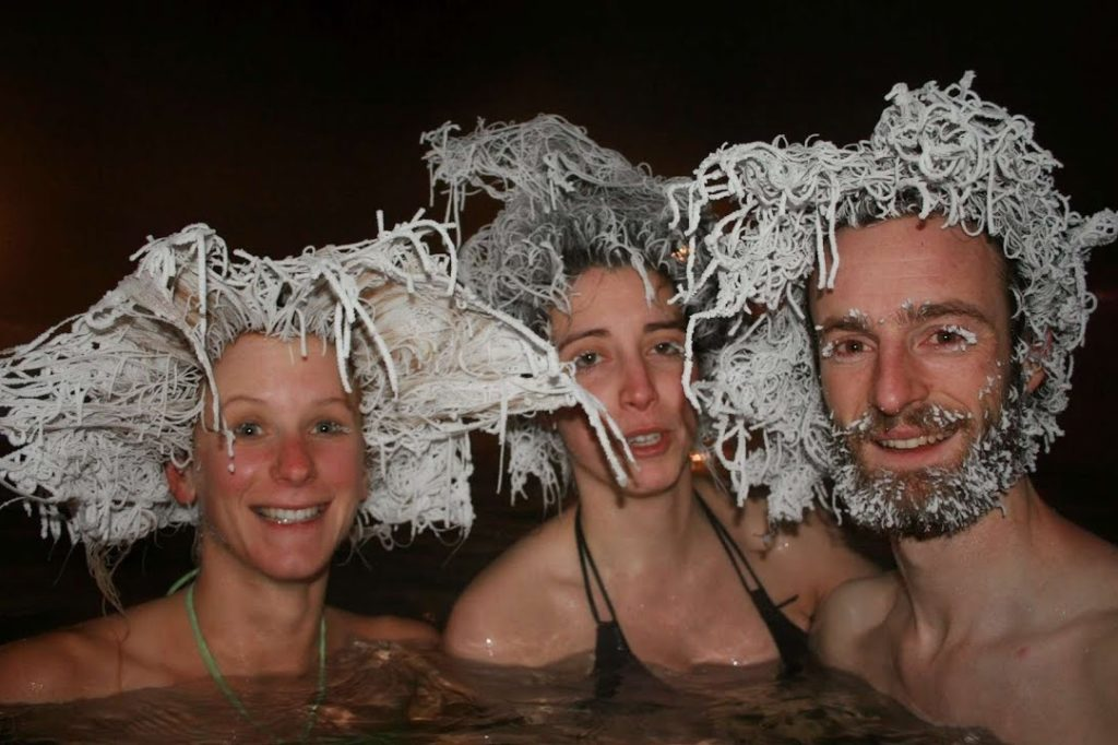 All About the Hair Freezing Contest That Takes Place in Canada