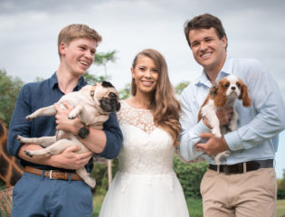 Bindi Irwin Talks About Honoring Her Dad at Her Wedding