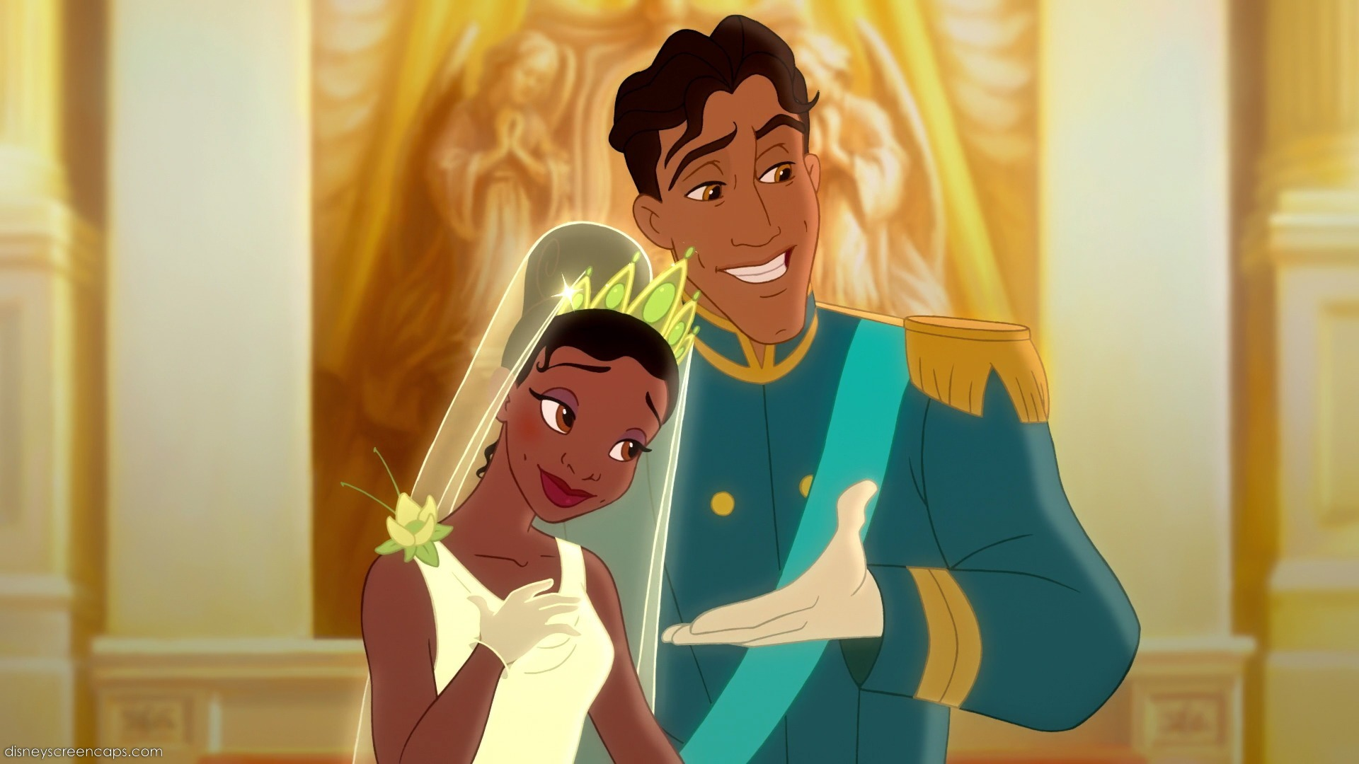 Tiana and Naveen, The Princess and the Frog