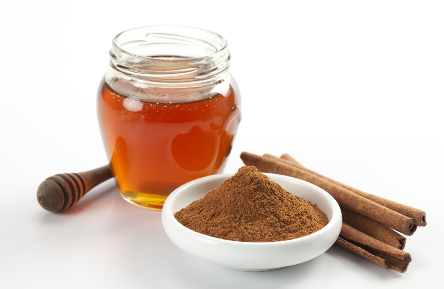 Honey, cinnamon, and coconut face mask