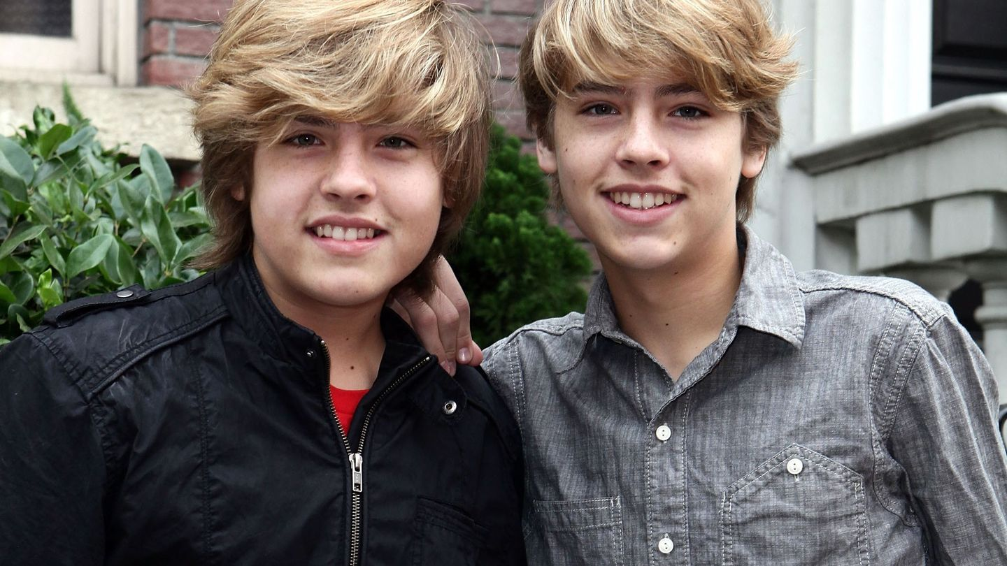 Dylan and Cole Sprouse twins