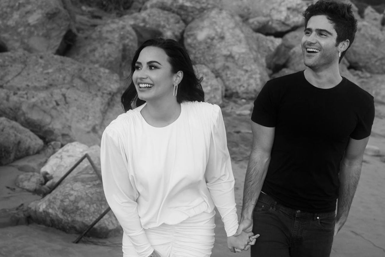 Demi Lovato's Ex-Fiancé, Max Ehrich Is Getting Weird on Instagram