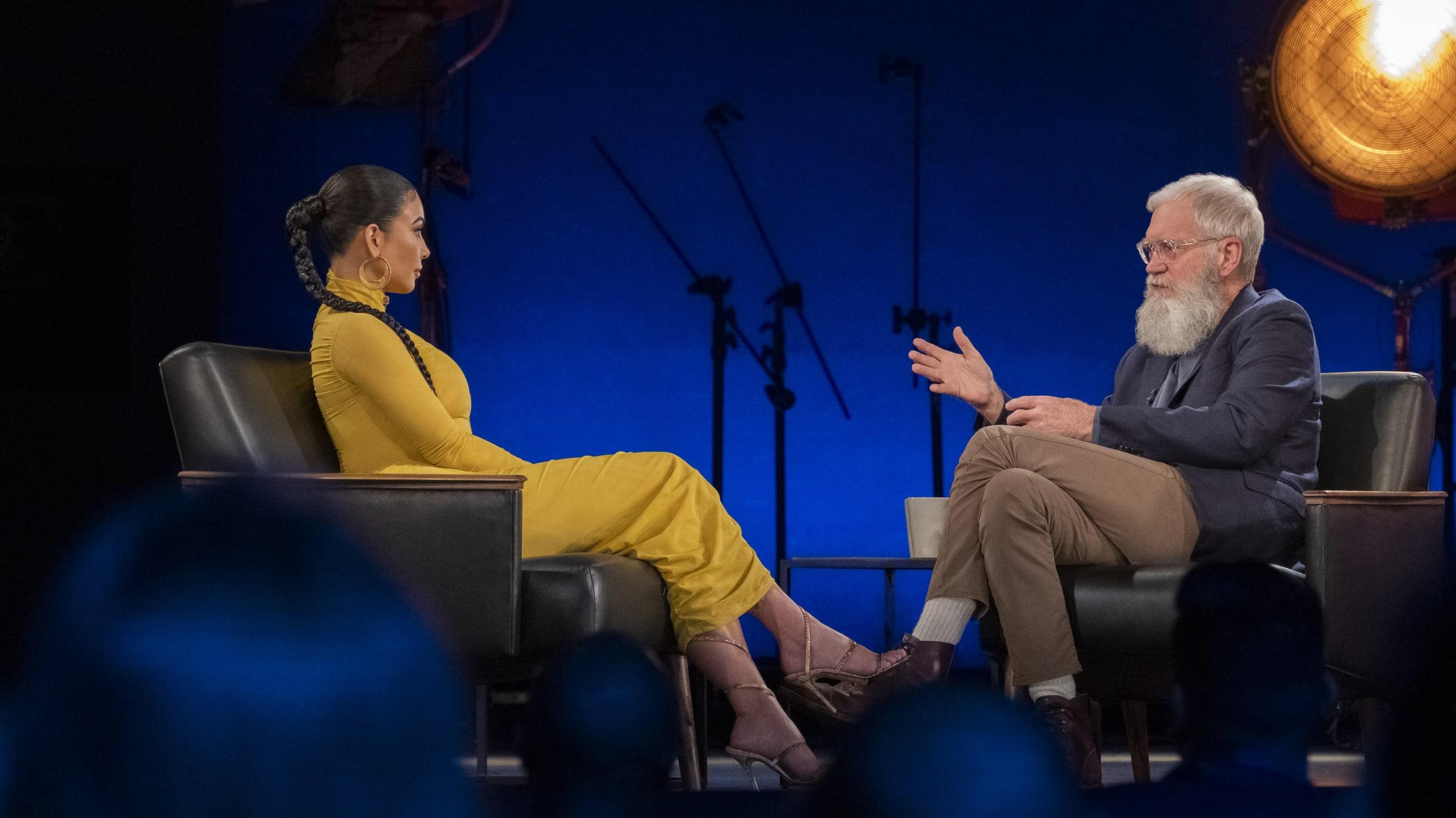 Kim Kardashian & David Letterman