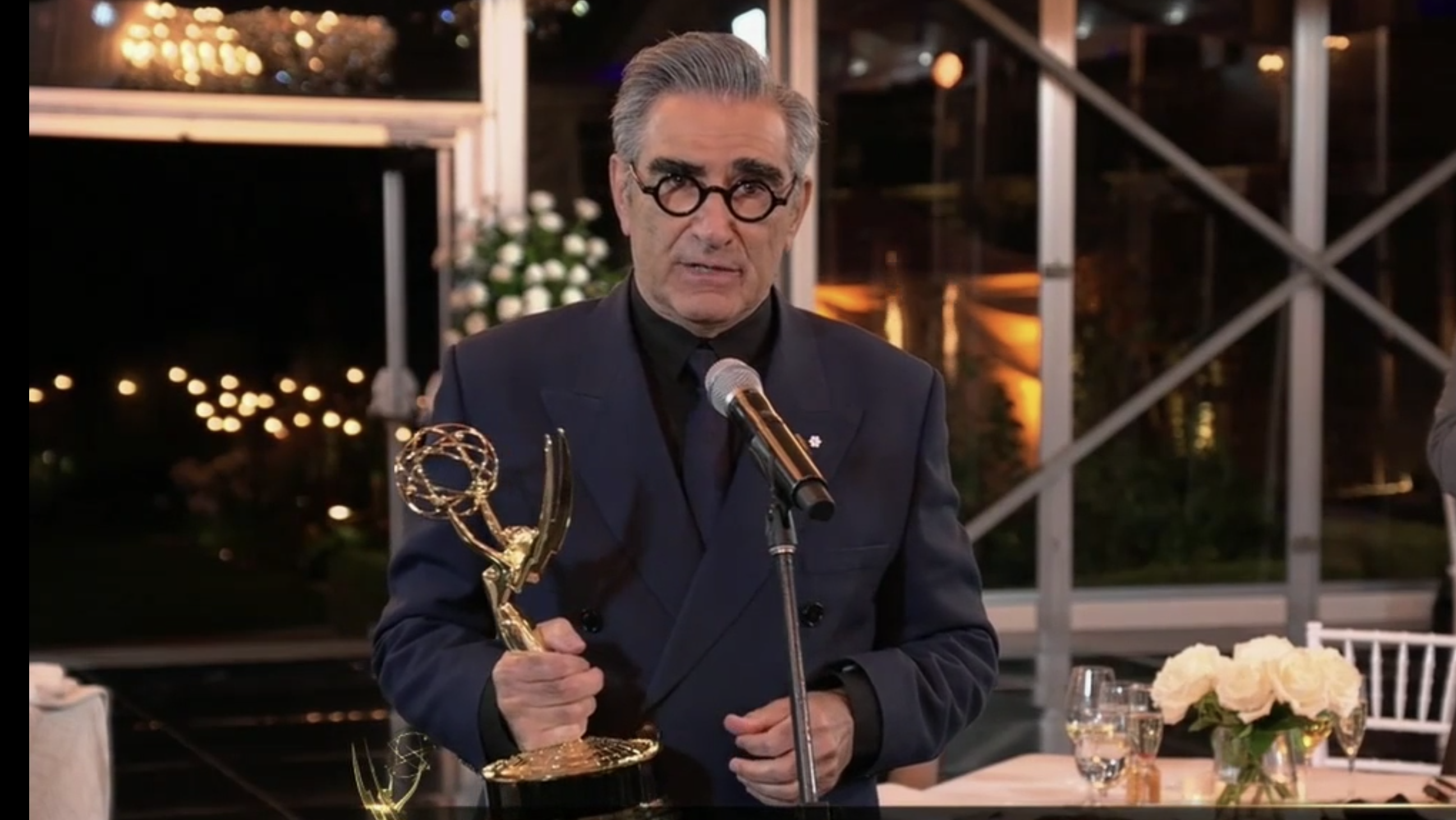 Schitt's Creek Creator Eugene Levy and Wife Ran a Tight Ship