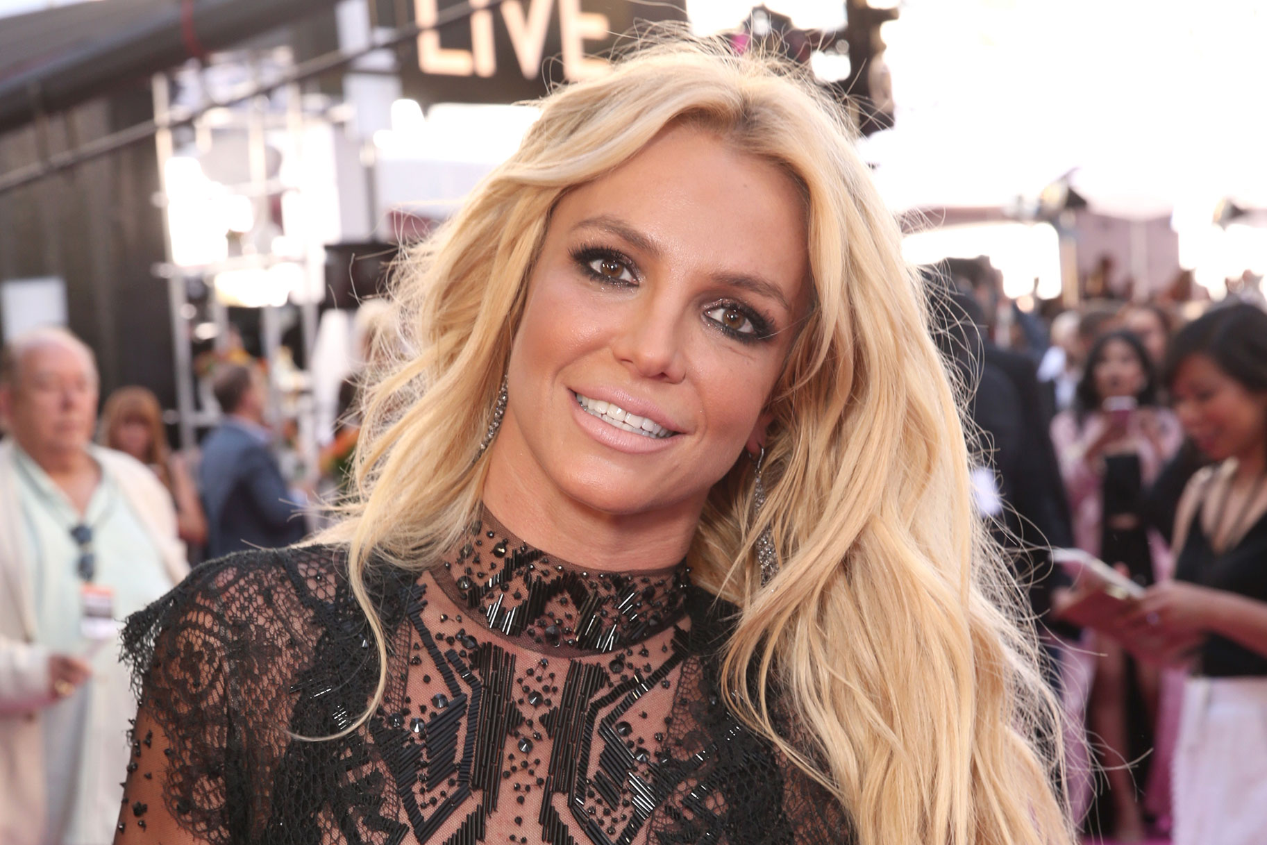Britney Spears on the 2016 Billboard Music Awards
