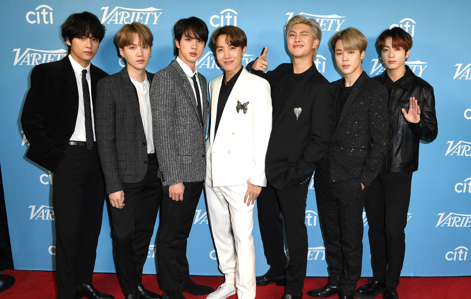 BTS at the red carpet