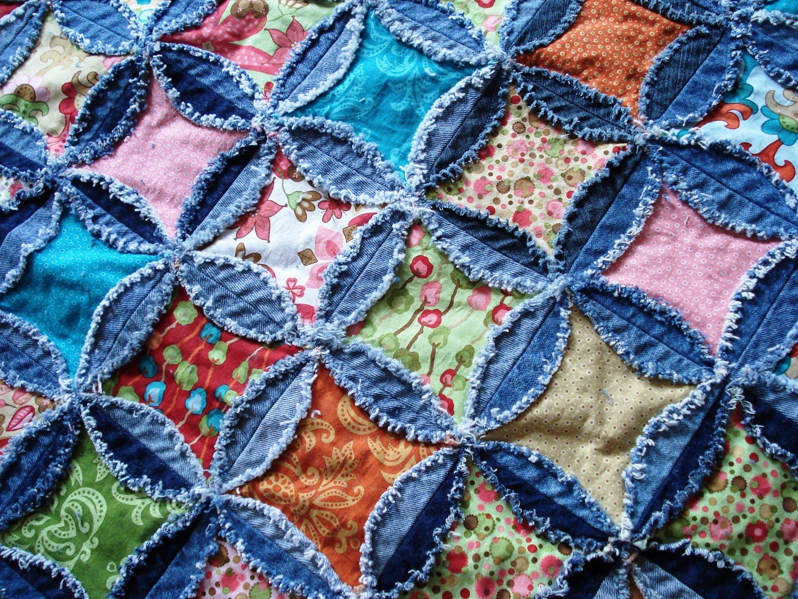 No-Sew Rag Quilt