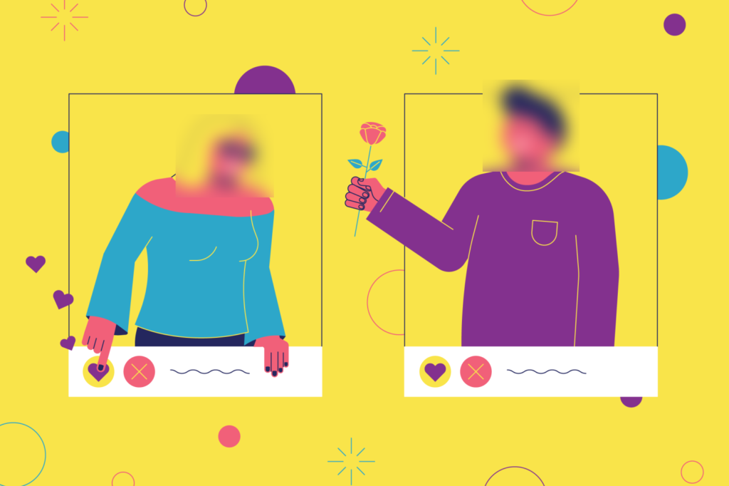 A Dating App That Hides Faces Until A Conversation Is Had