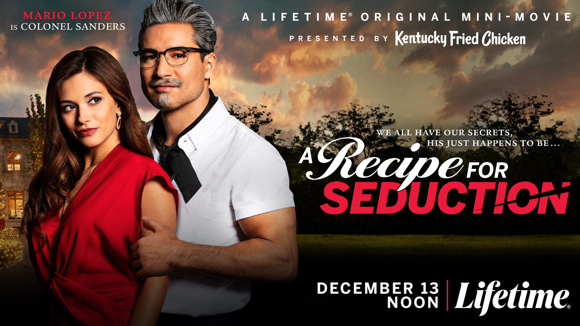 The Poster for the KFC Movie Starring Mario Lopez