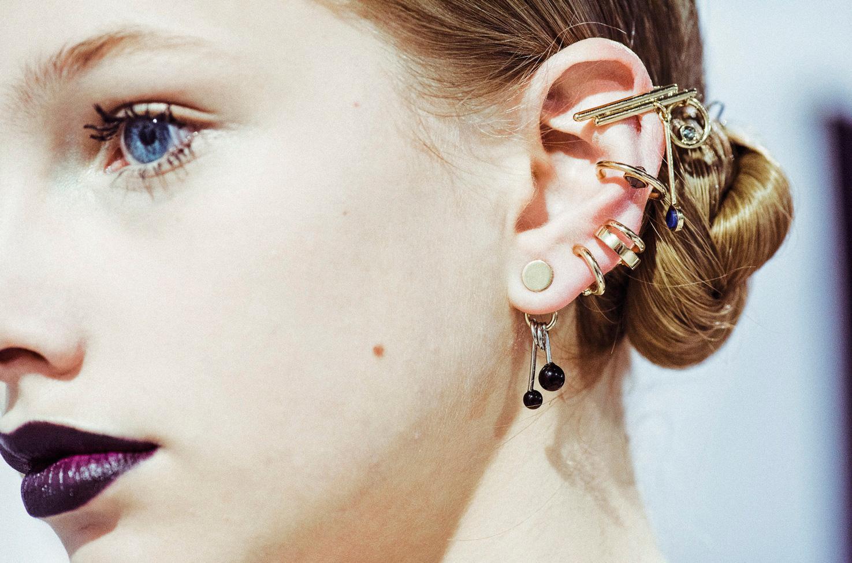 Ear Asymmetry piercing design