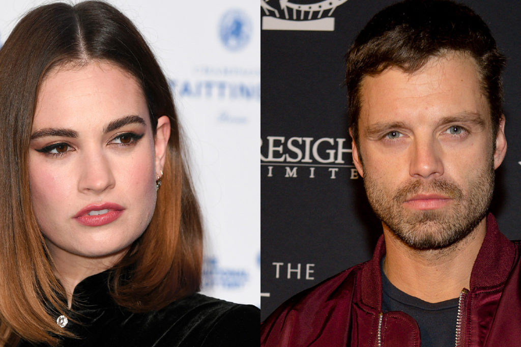 Sebastian Stan and Lily James Portray Pam and Tommy on Hulu