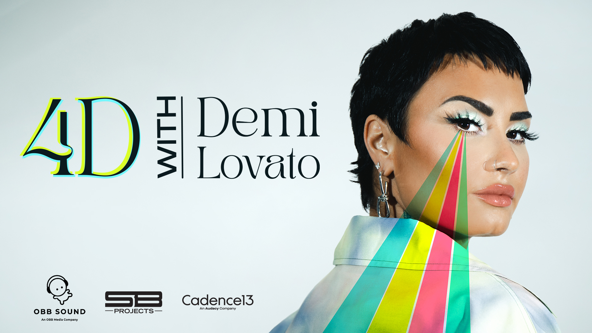 4D With Demi Lovato Podcast Poster