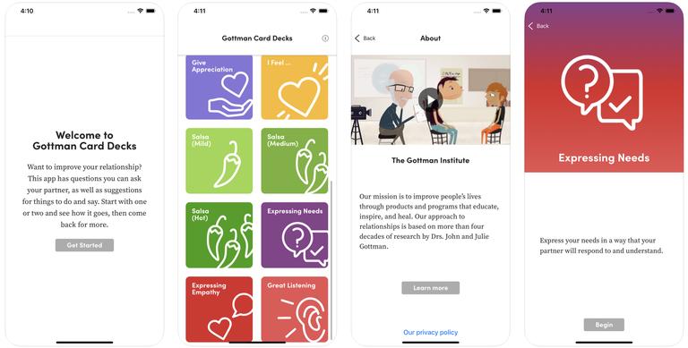 Gottman Card Decks